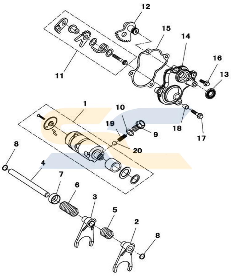 Odes Utv Engine Diagram